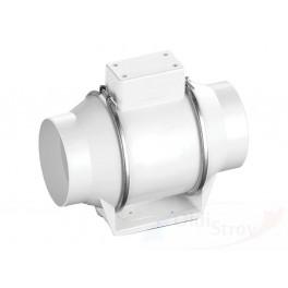 Круглый канальный вентилятор в пластиковом корпусе FLOW 100